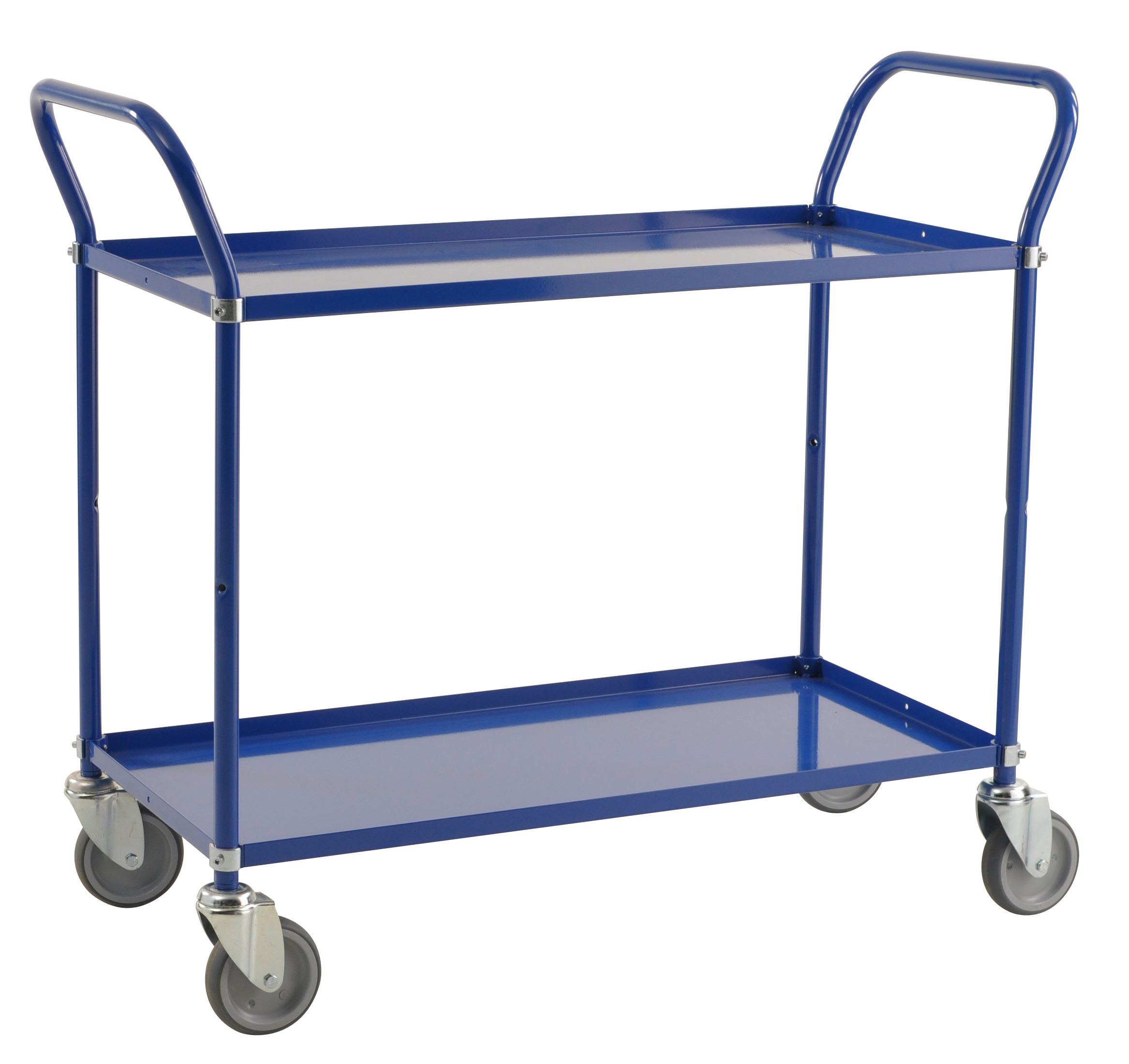 Colour trolley 2 levels KM3105