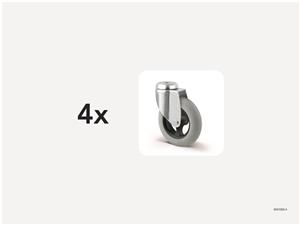 KM1000-4   Replacement castors 100 mm