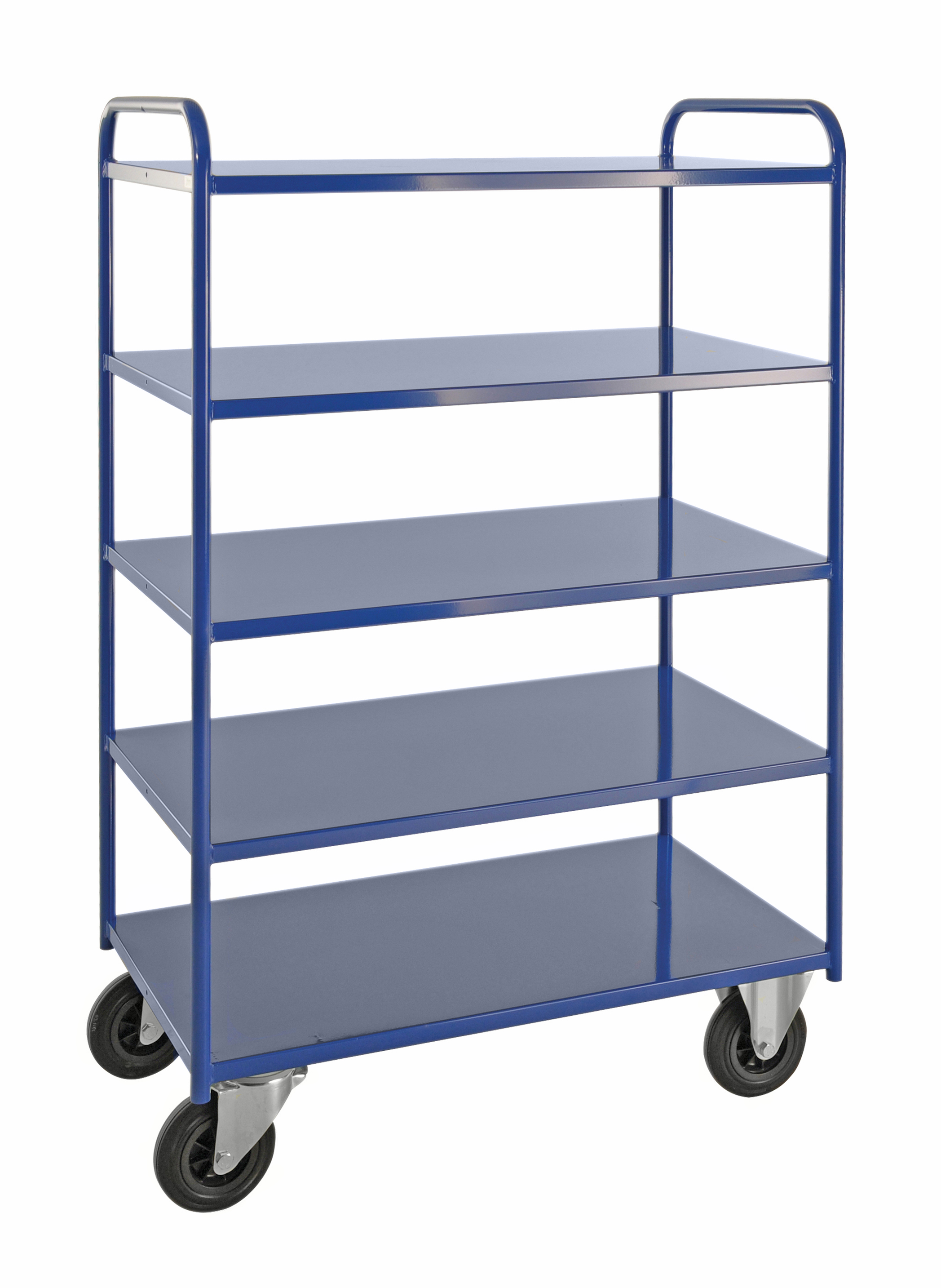 Shelf trolley 5 levels, fully welded KM4145-B