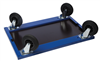 Replacement solid rubber castors 143-4