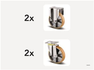 KM6000 | Hjulsats 200 mm