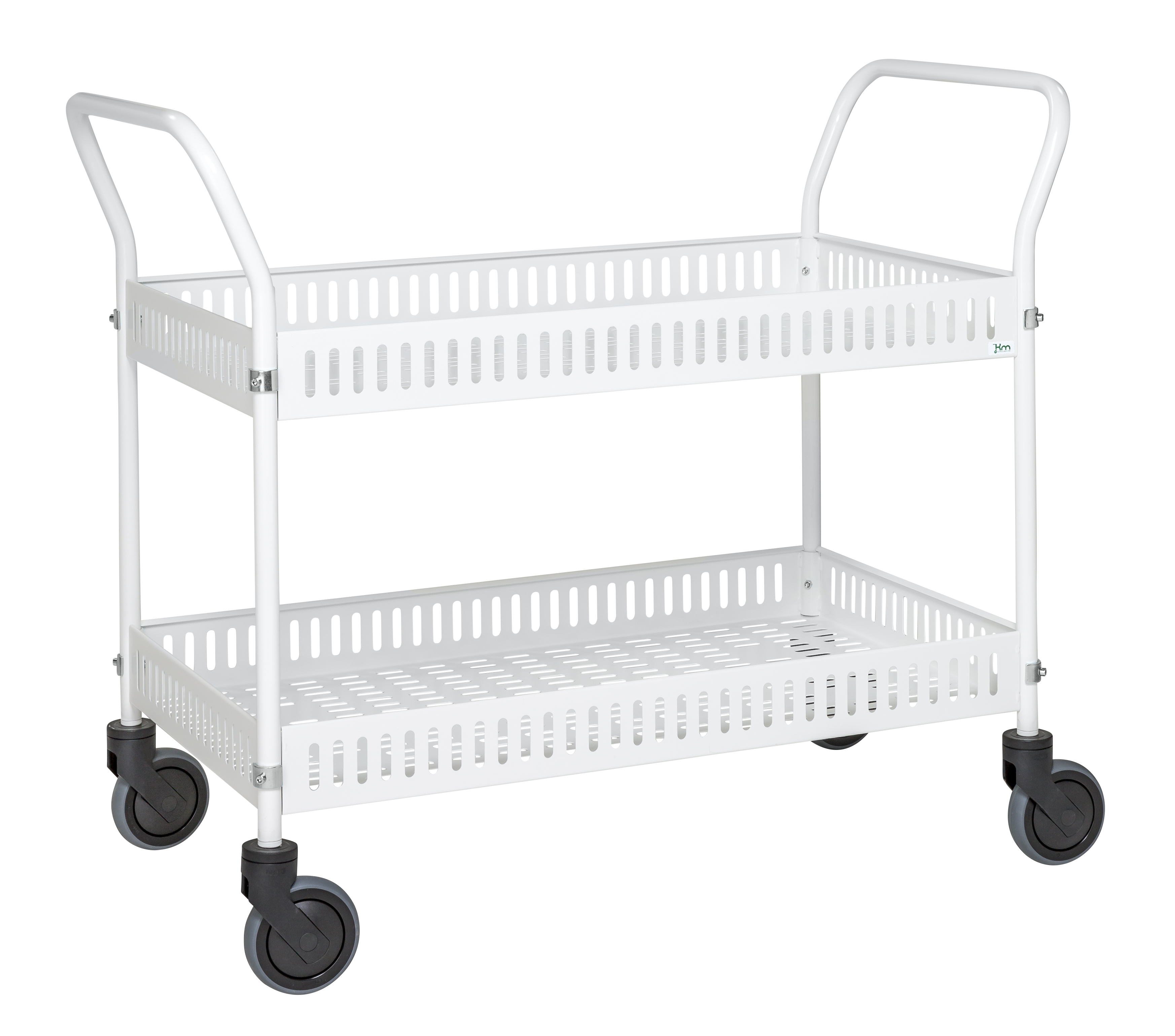 Table trolley with side rail KM4200