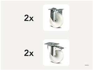 KM5000-2 | Hjulsats 200 mm