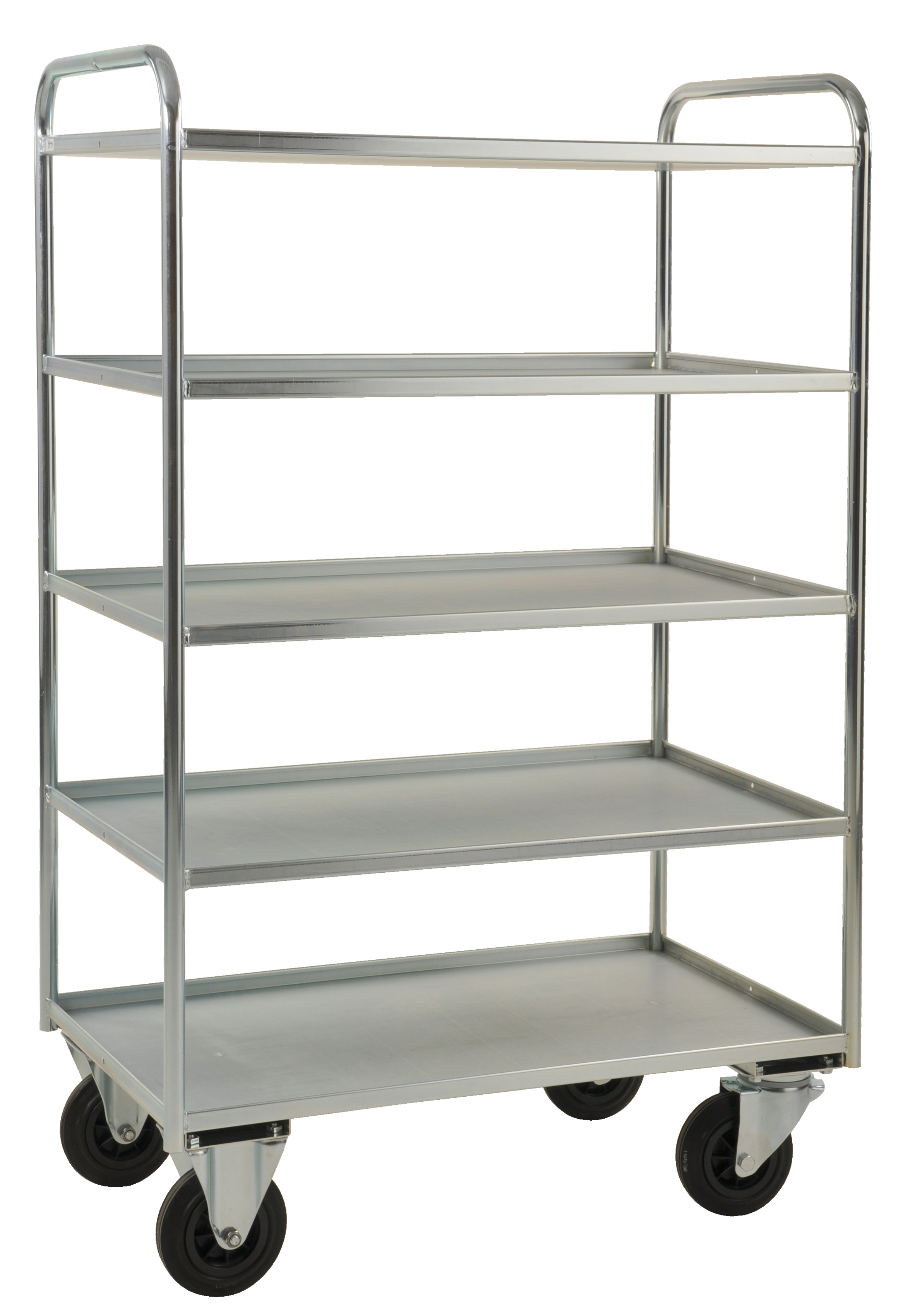 Shelf trolley 5 levels, fully welded KM4150-E