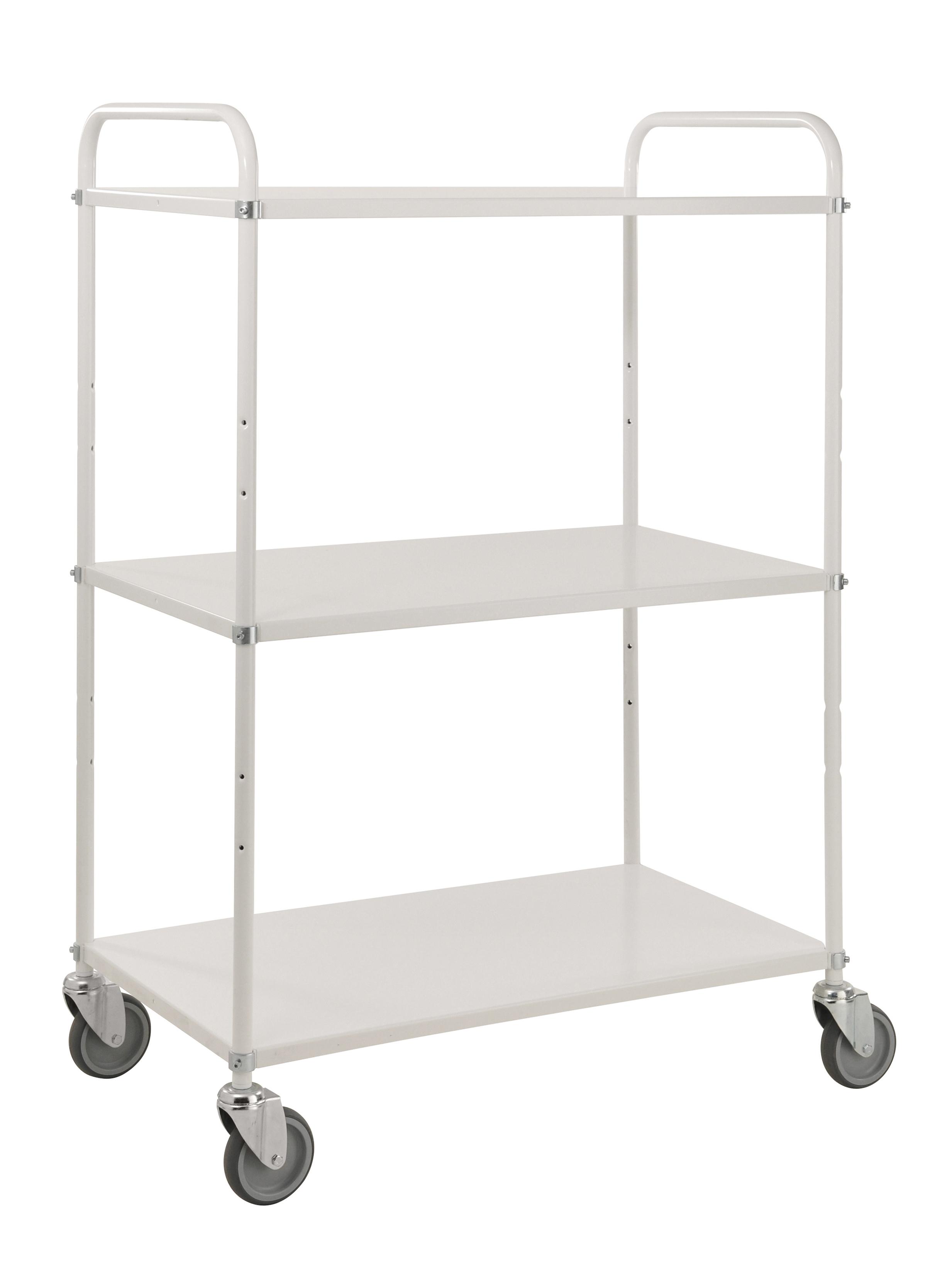 KM4123   Light shelf trolley