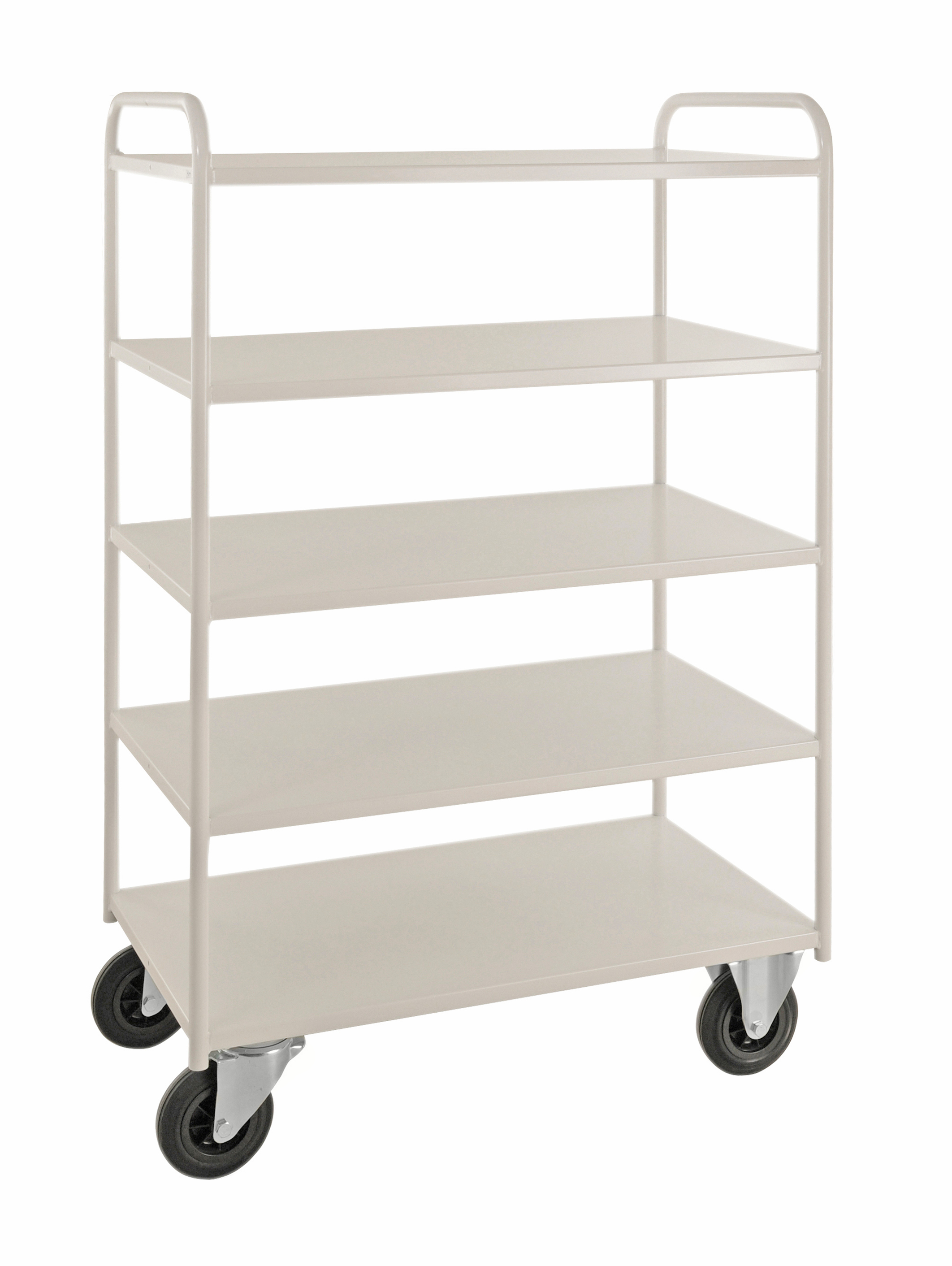 KM4145 | Shelf trolley 5 levels, fully welded