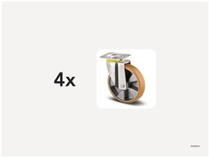 KM6000-4 | Hjulsats 200 mm