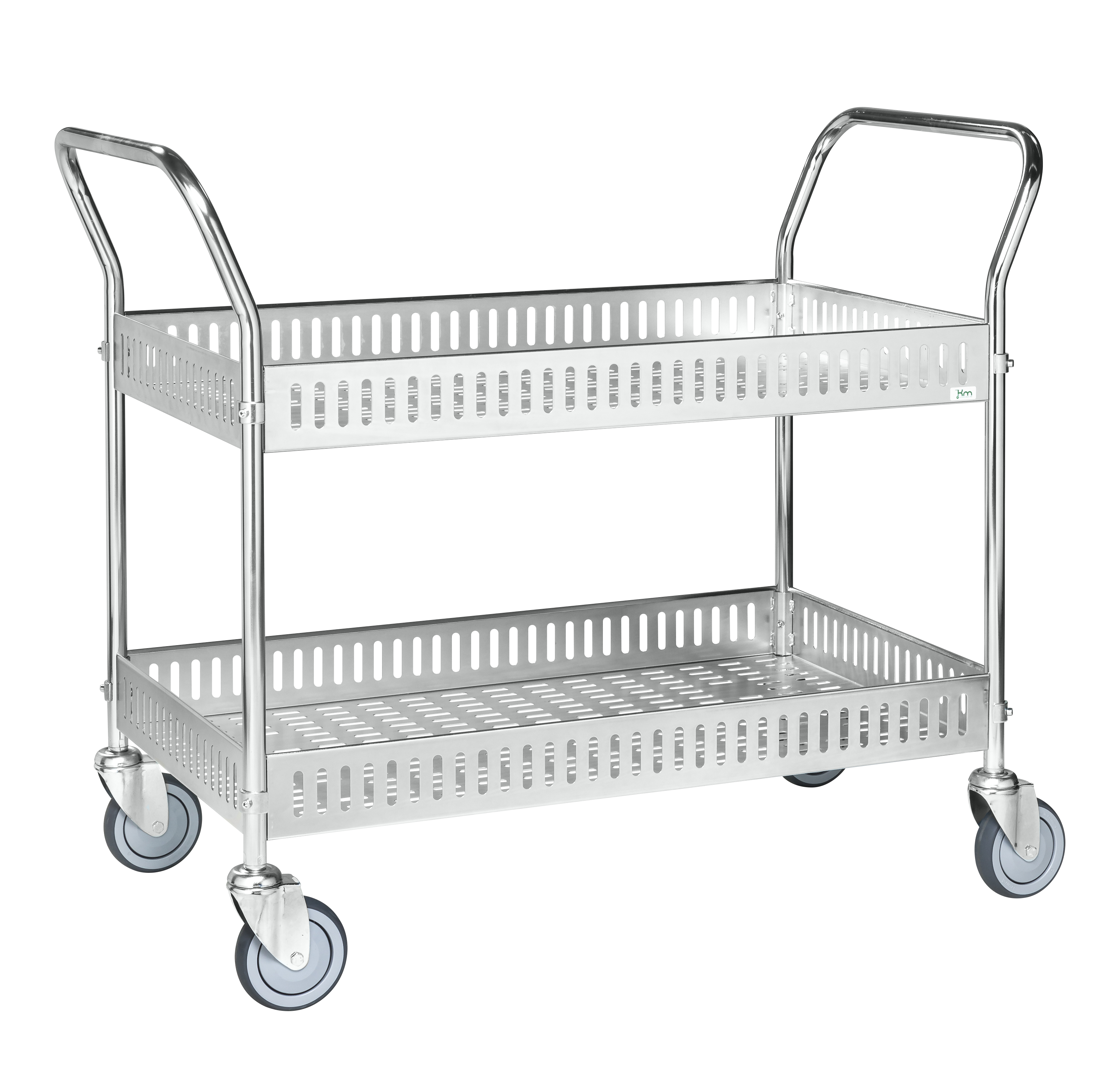 Table trolley with side rail KM4893-GB