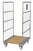 Rullcontainer träbotten KM84