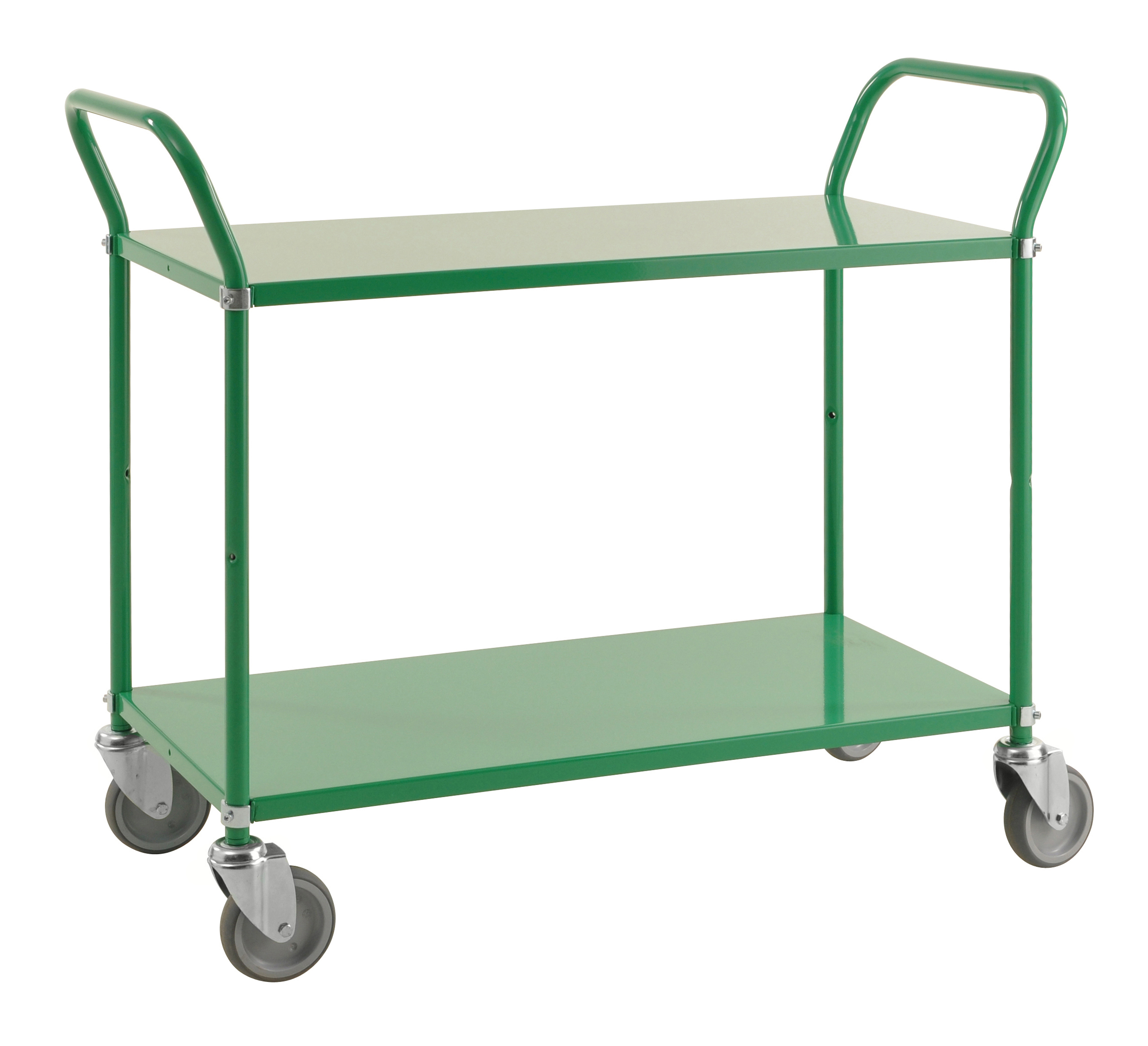Colour trolley 2 levels KM2105