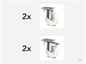 KM5000-3 | Hjulsats 200 mm