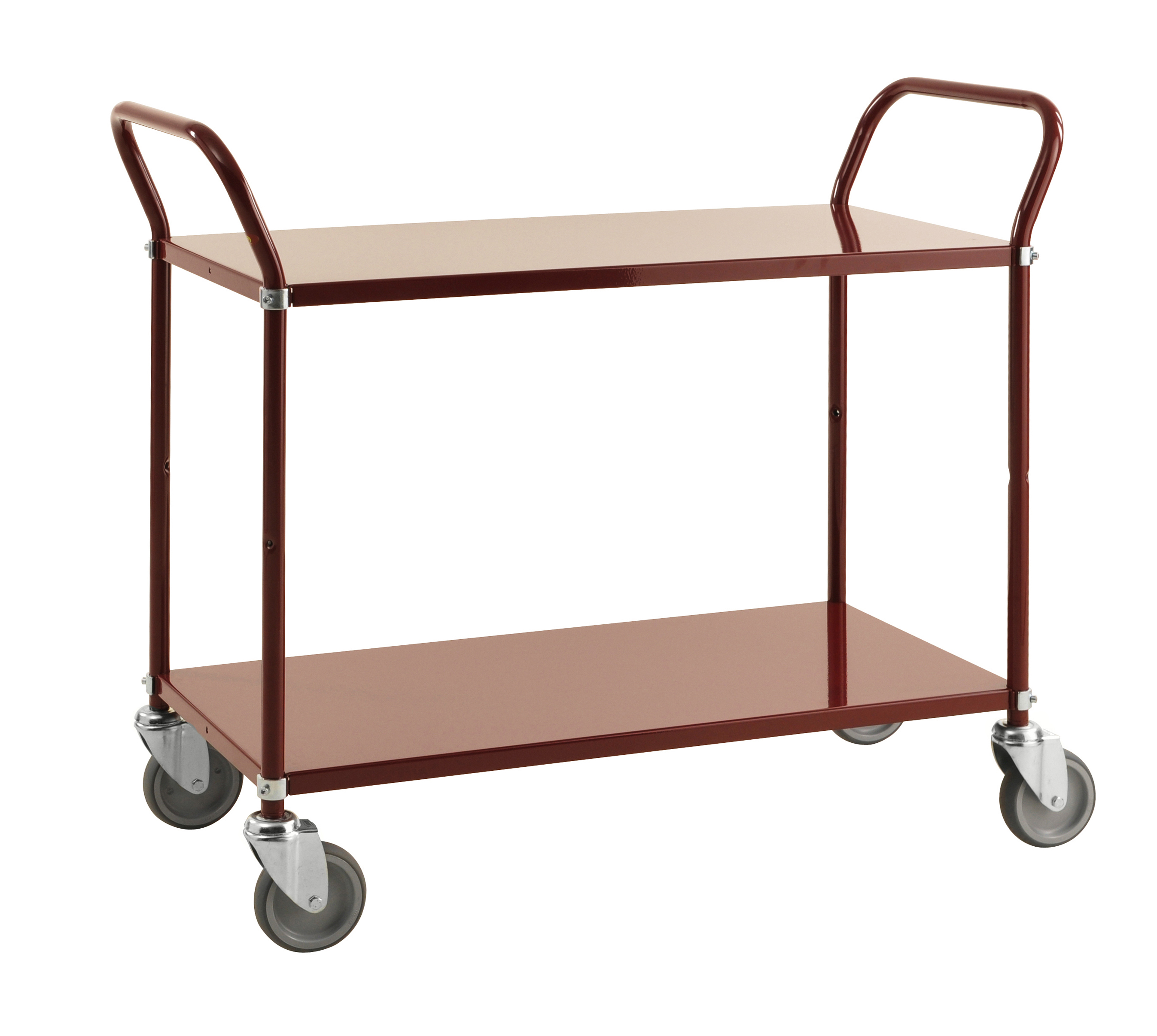Colour trolley 2 levels KM1105