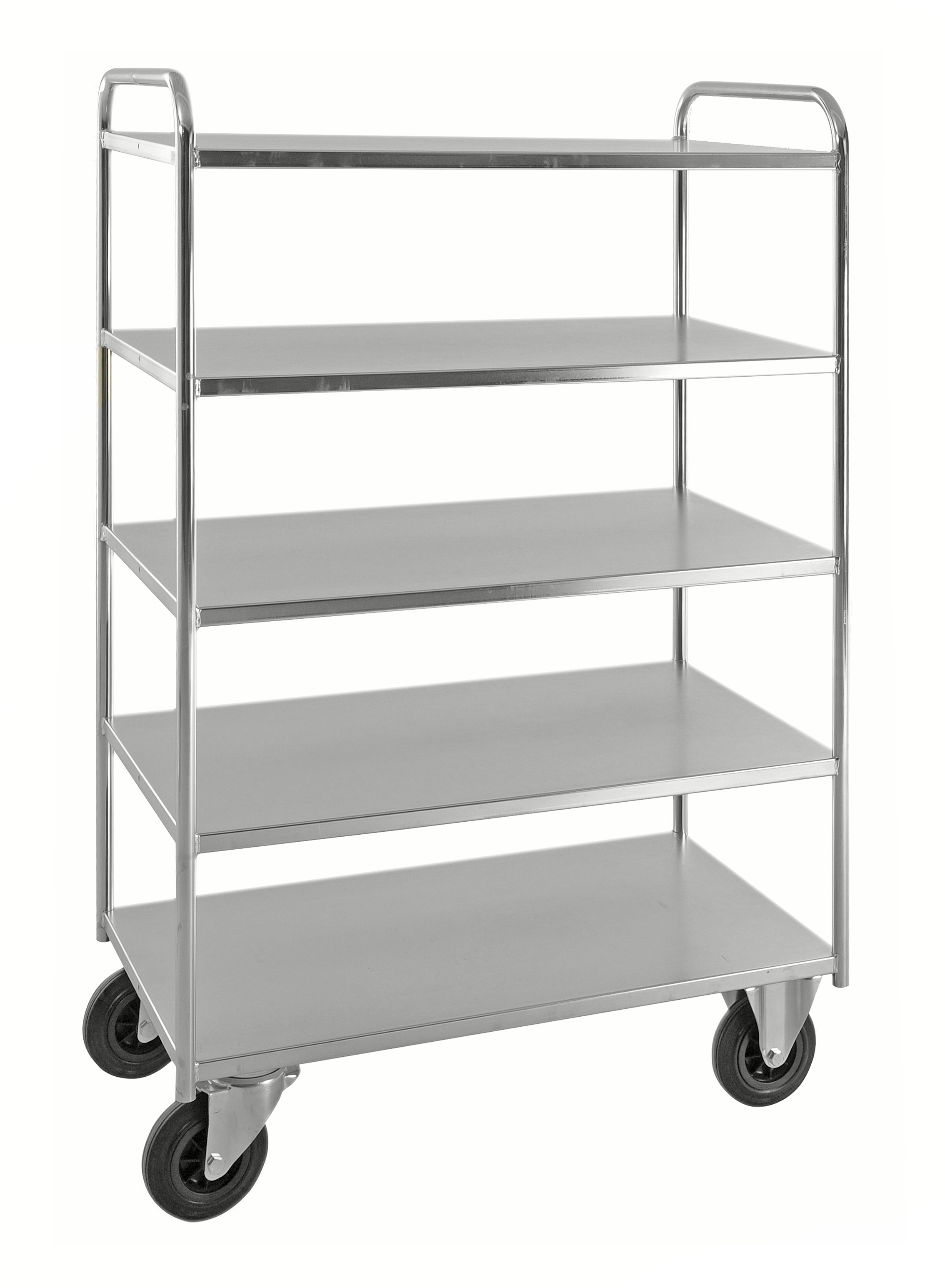 Shelf trolley 5 levels, fully welded KM4145-E