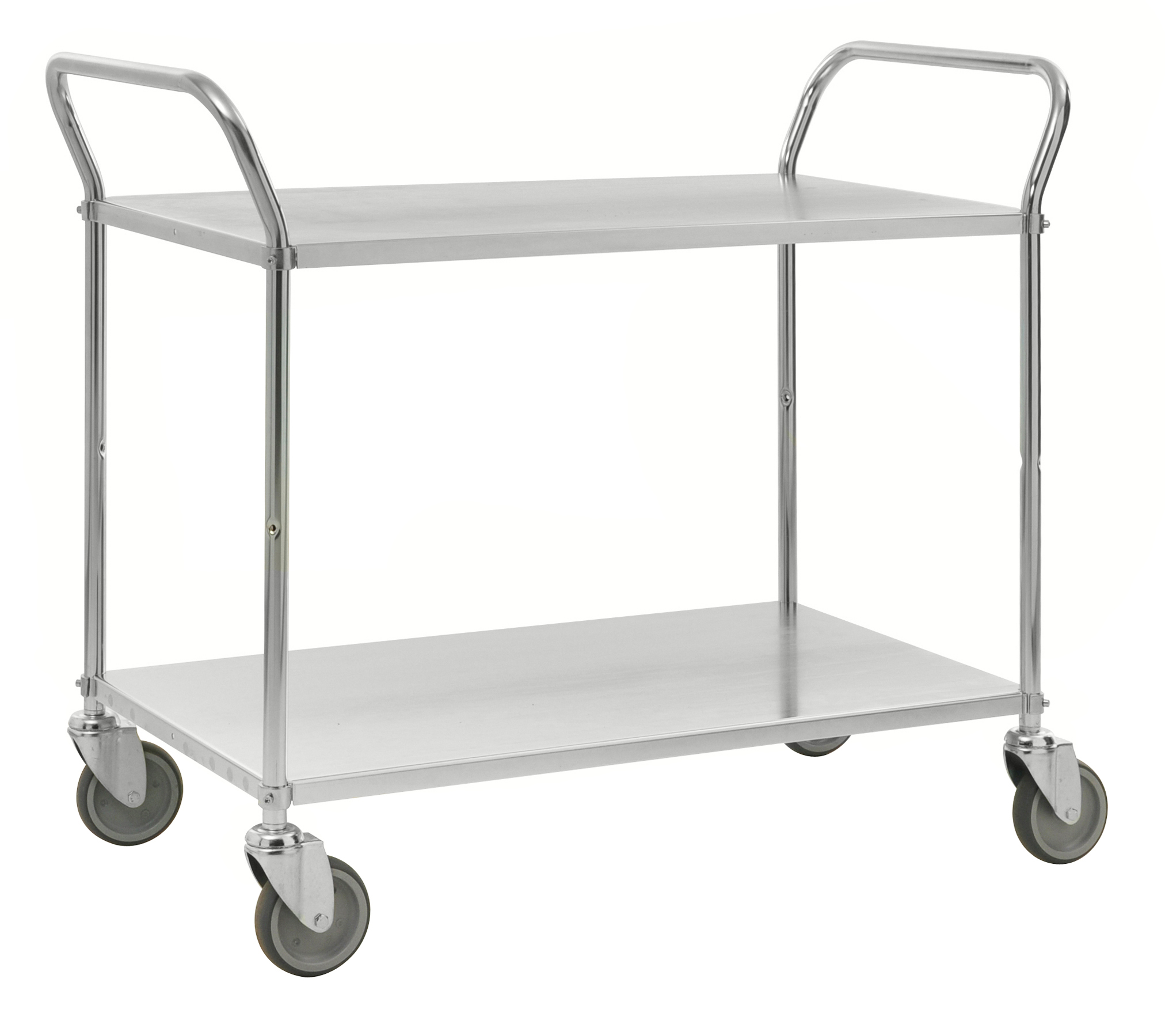 Colour trolley 2 levels KM4105-E
