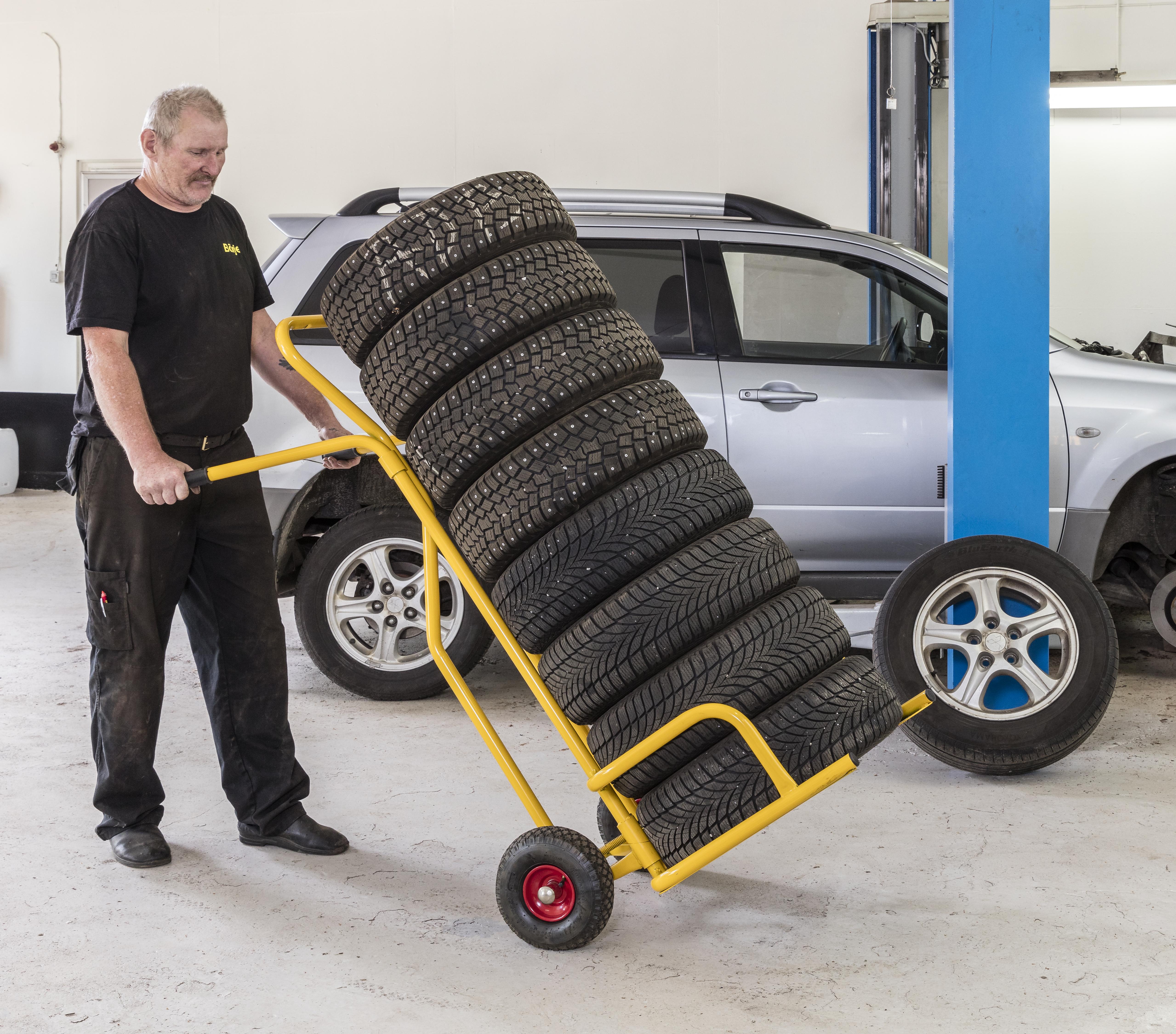 KMD1 | Tire handling