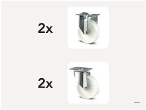 KM5000 | Hjulsats 200 mm