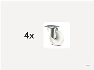 KM5000-4   Hjulsats 200 mm