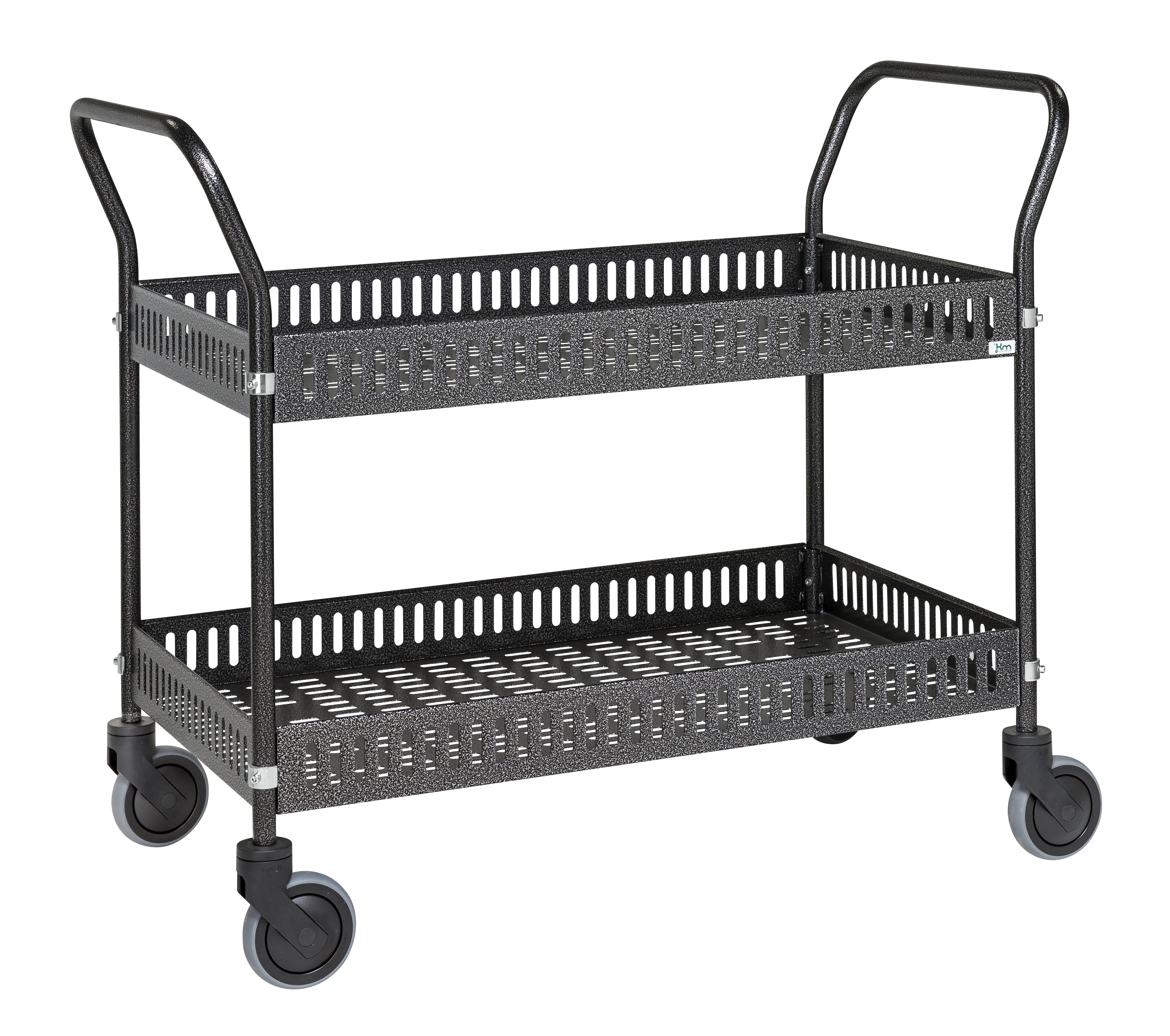Table trolley with side rail KM8200