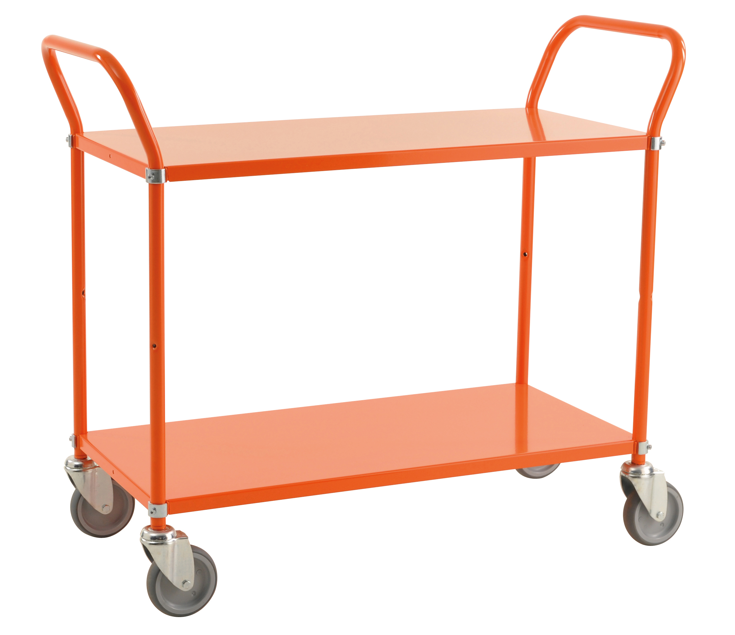 Colour trolley 2 levels KM6105