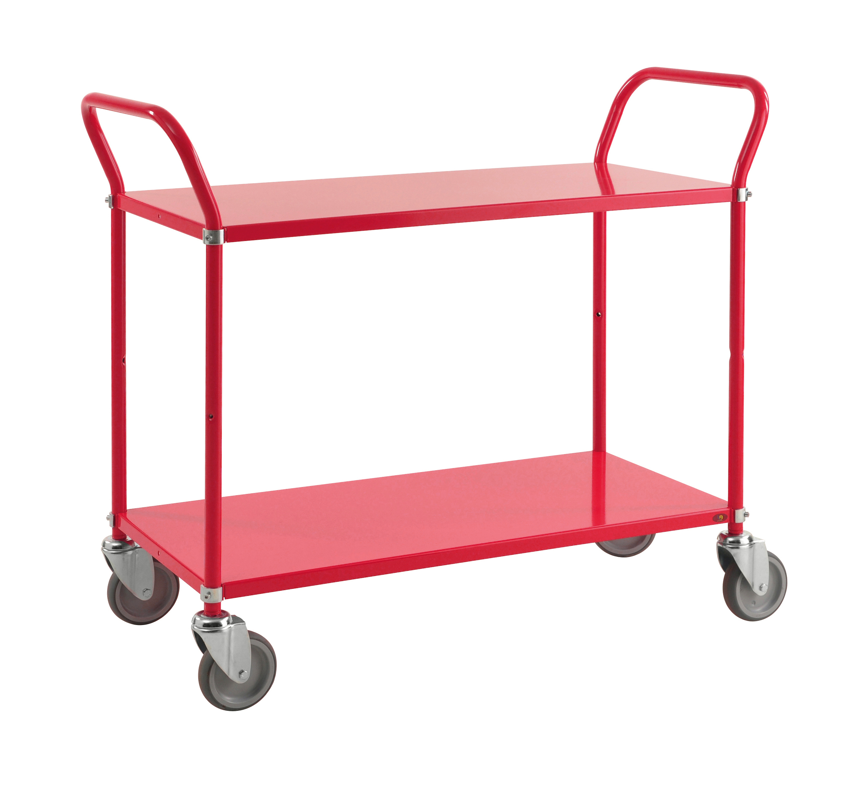 Colour trolley 2 levels KM7105